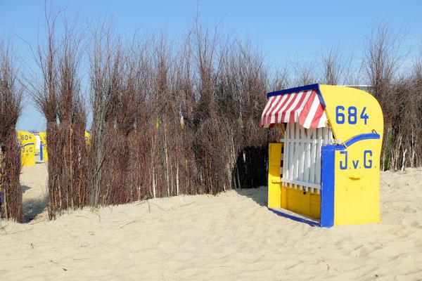 Strandkorb in Duhnen