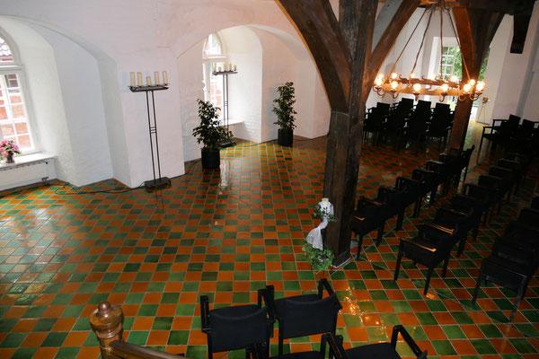 Der gotische Saal im Schloss Ritzebüttel