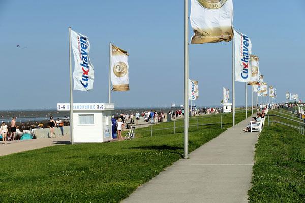 Strandpromenade in Duhnen