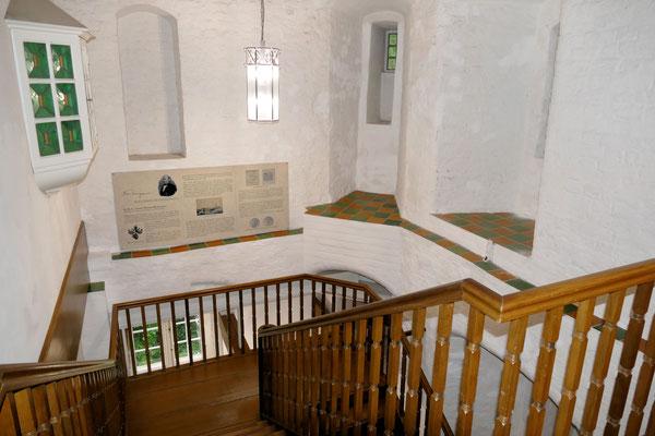 Das Treppenhaus im Schloss Ritzebüttel