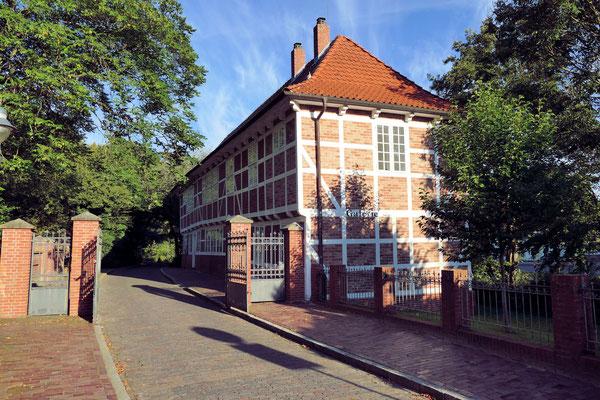 Die ehemalige Wache am Schloss Ritzebüttel