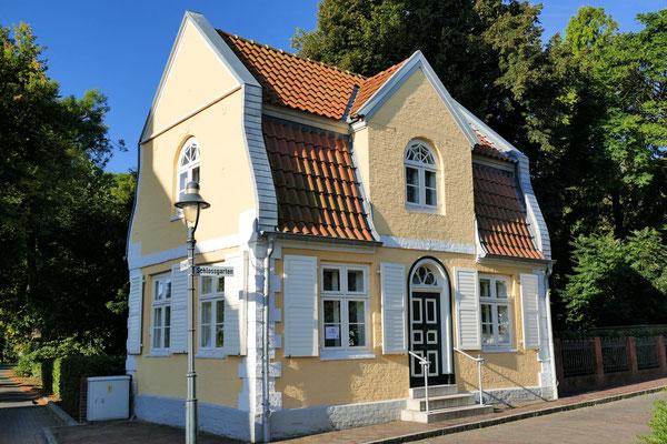 Das Gärtnerhaus, ehemaliges Offiziershaus am Schloss Ritzebüttel in Cuxhaven
