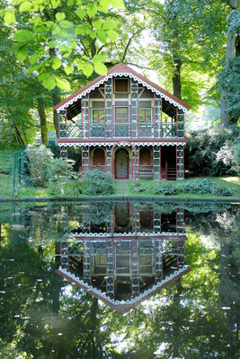 Schweizerhaus am Schlossteich