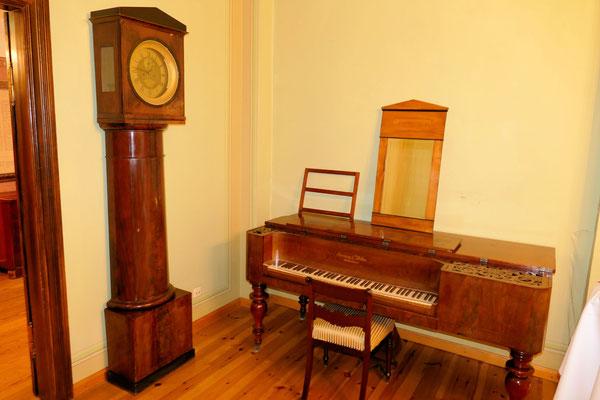 Klavier im Schloss Ritzebüttel