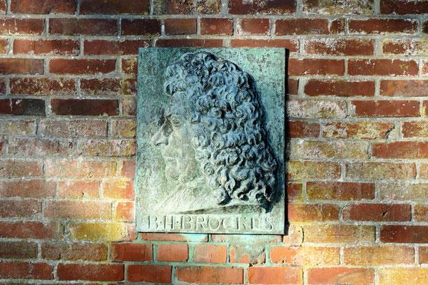 Gedenktafel Barthold Heinrich Brockes
