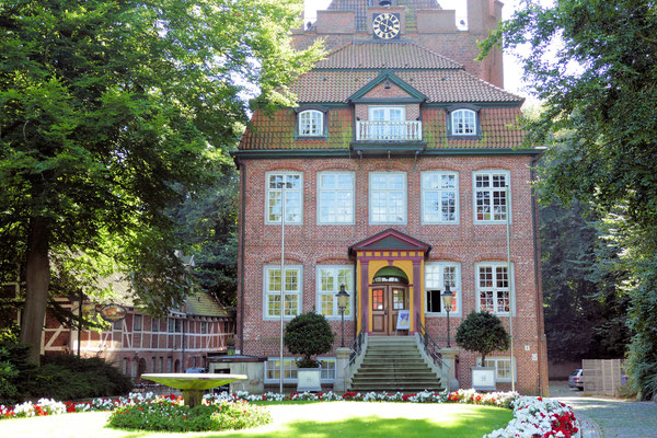 Der Eingang des Schlosses Ritzebüttel in Cuxhaven