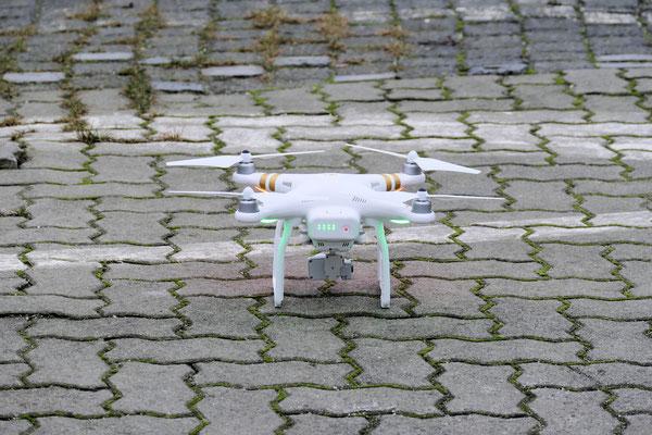 Quadcopter von DJI über Cuxhaven