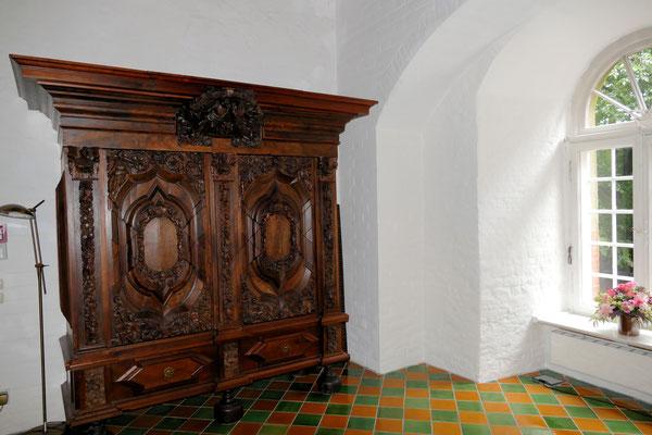 der Empfangssaal im Schloss Ritzebüttel