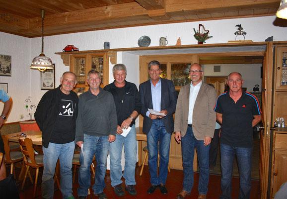 BOL-Aufsteiger Winter 2015: Ludwig, Roßgoderer, Weber, Kobler