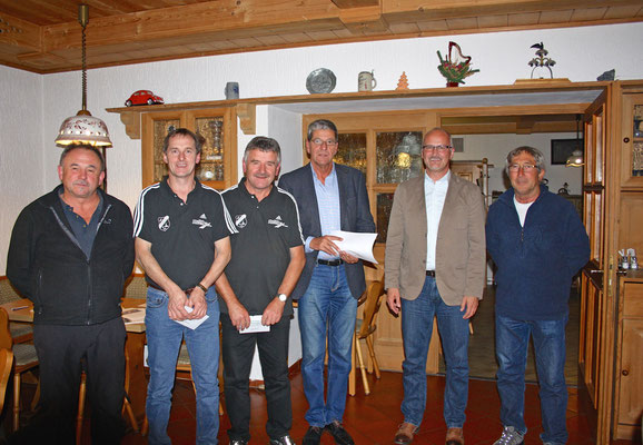 Kreisliga-Aufsteiger Winter 2015: Mayer, Bernecker, Filmann, Zilch