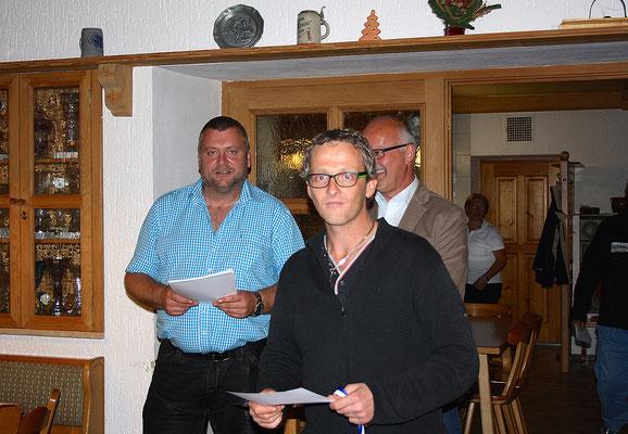 1. Platz im Einzelwettbewerb: Manfred Podolan