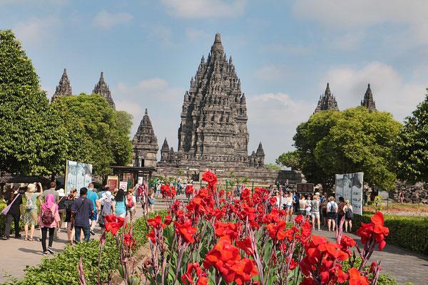 Tempelanlage Prambanan bei Yogyakarta