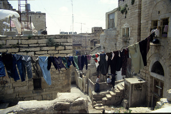 Unterwegs in der Altstadt von Bethlehem.