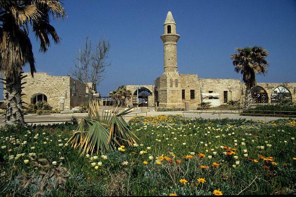 Cäsarea am Meer war einst eine reiche Stadt. Die einstige Kreuzfahrerstadt wurde bereits zur Zeit der römischen Herrschaft gegründet.