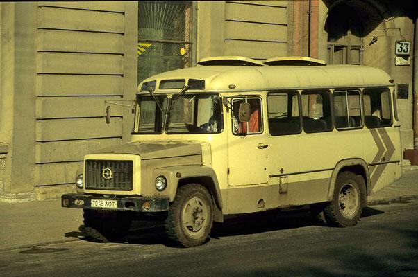 Verkehrsmittel in St. Petersburg.
