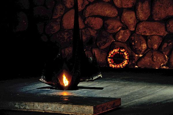"""Mit einer ganz unangenehmen Seite befasst sich """"Jad Vashem"""", das """"Museum zur Geschichte des Holocaust""""."""