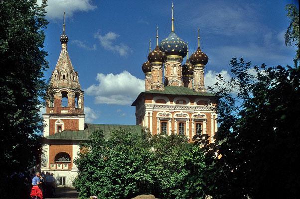 Kirchen in Uglitsch.