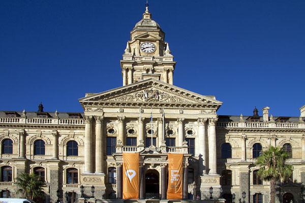 Das Rathaus von Kapstadt.