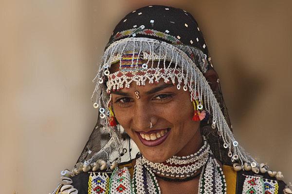 Tänzerin im Palat in Jaisalmer.