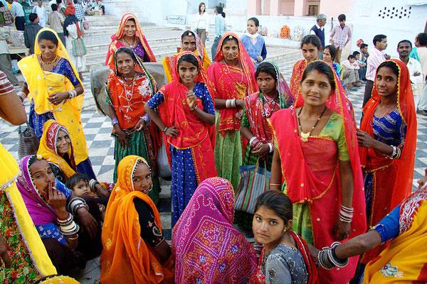 Der größte Heiratsmarkt von ganz Indien findet während des Pushkarfestes statt.