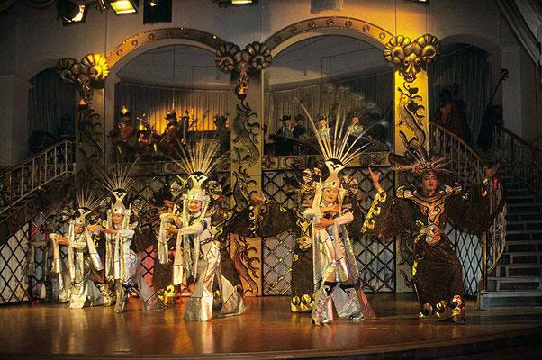 Traditionelle Folklore zum Abschluss dieser Tour in Ulanbator.