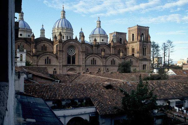 Ecuador, Cuenca, Kathedrale.