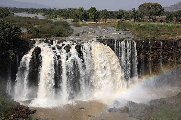 Wasserfall des Blauen Nil.