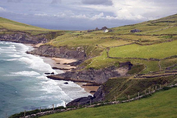 Küste auf der Halbinsel Dingle.