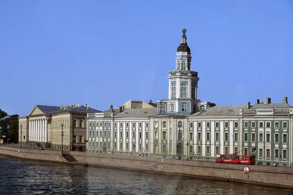 Der Winterpalast von St. Petersburg.
