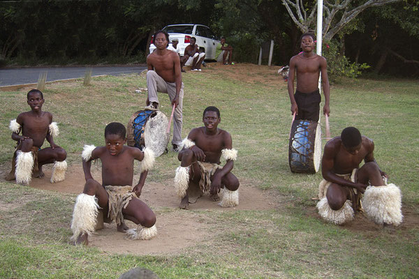 Afrikanische Folklore - Gruppe in St. Lucia.