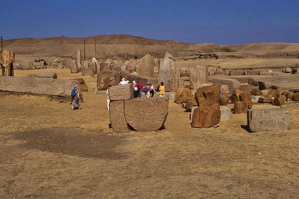 Tanis: Hauptstadt der Könige der 21. und 22. Dynastie.