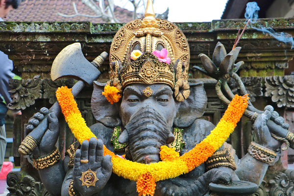 Ganesha, im Hinduismus der Gott der Weisheit