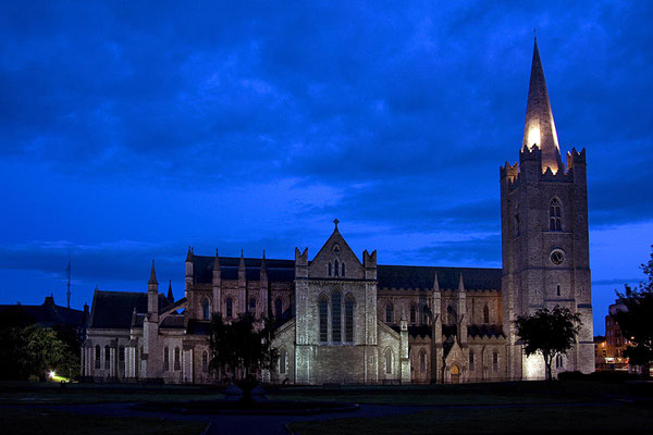 St. Patrick´s Cathedral in Dublin.