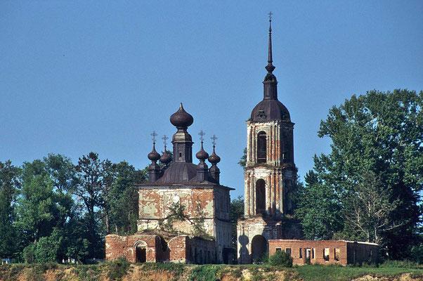 Viele Kirchen befinden sich noch in einem desolaten Zustand.