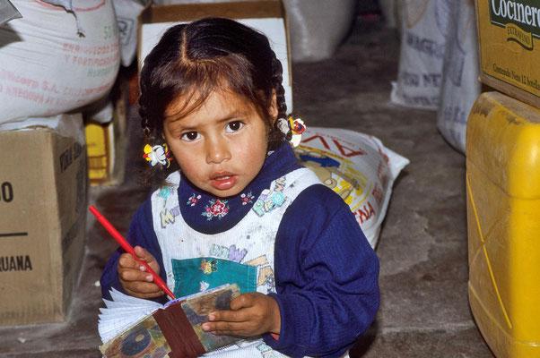 Auf dem Markt von Arequipa.