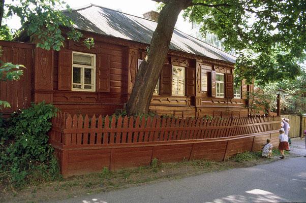 1868 wurde hier der Schriftsteller Maxim Gorki, - der Vater des  sozialistischen Realismus geboren. In diesem Haus wuchs er bei seinen Großeltern auf.