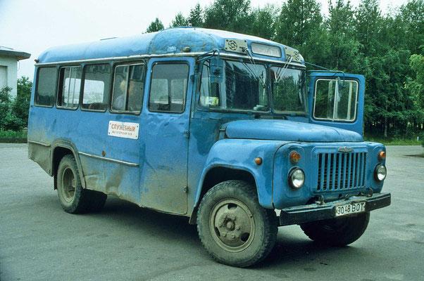 Die Verkehrsmittel sind zum größten Teil in einem dosolaten Zustand.