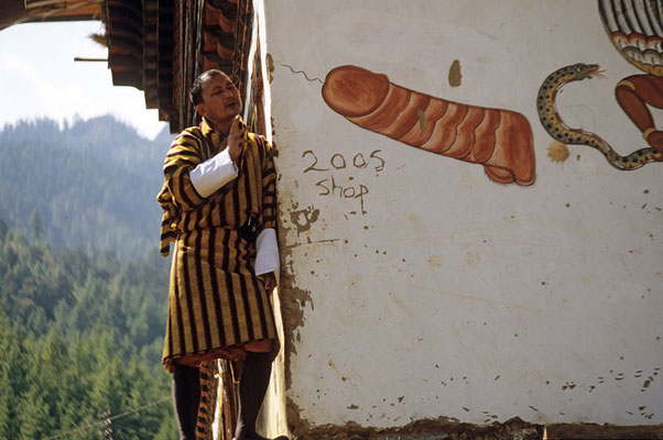 Die Fruchtbarkeit spielt in Bhutan in vielerlei Hinsicht eine bedeutende Rolle.