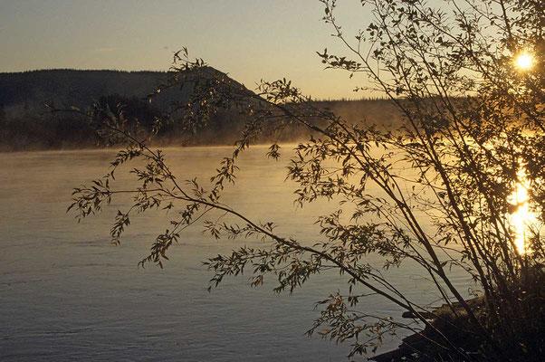 Yukon am frühen Morgen.