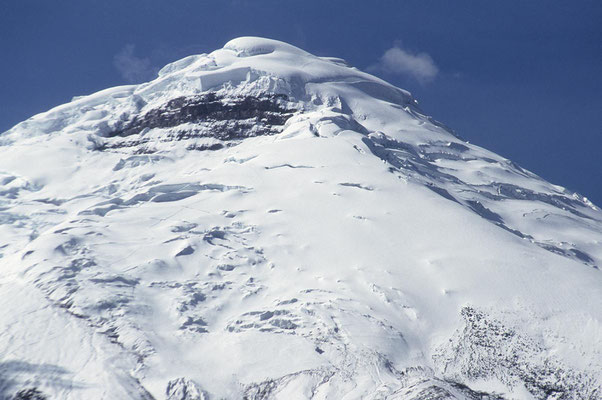 Blick auf den Chimborazo.