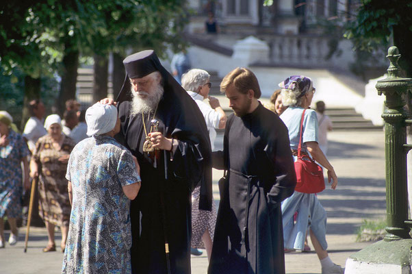 Heute ist das Sergios-Kloster das Geistliche Zentrum der orthodoxen Kirche von Russland.