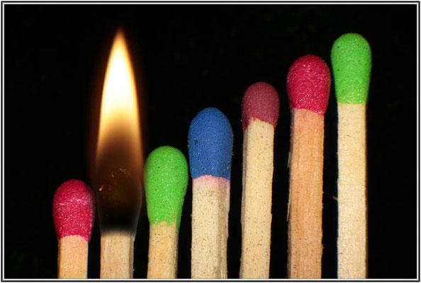 Spiel mit dem Feuer!