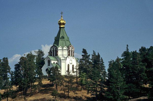 Das Kloster auf den Valaam-Inseln.