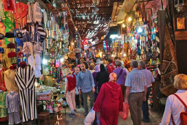 In der Medina von Marrakesch.