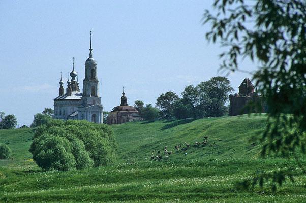 Die Stadt Susdal hat mehr als 30 Kirchen und mehrere Klöster.