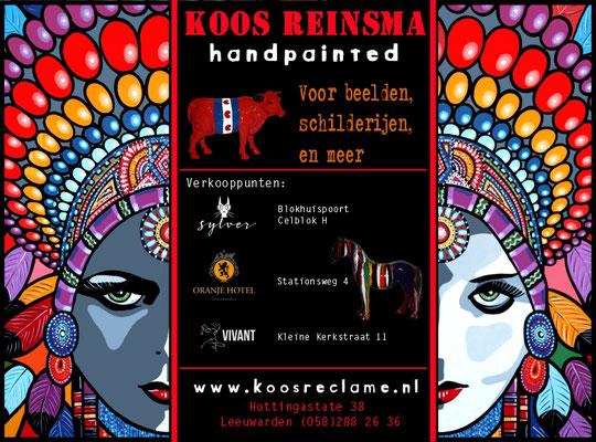 Advertentie voor Koos Reinsma - LJOUWERT november 2017