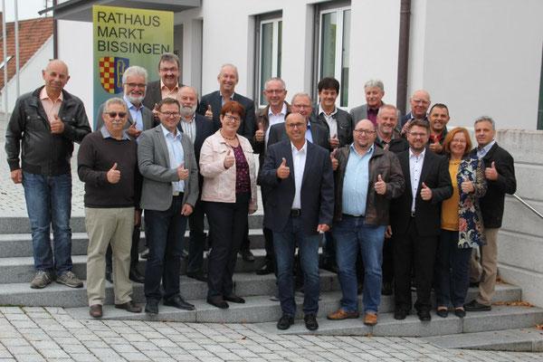 Stephan Herreiner mit CSU und Freien Wählern /Foto: Manfred Rauh