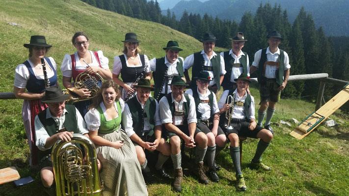 Bergmesse Neuhüttenalm 03.09.2016