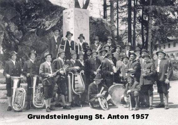 Grundsteinlegung St. Anton 1957
