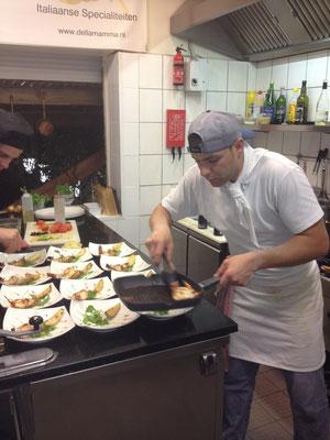 Maurizio Sacca Cucina Ristorante Della mamma Vaals